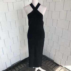 Trouve | Black Bodycon Sleeveless Dress